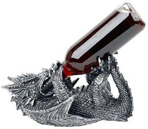 Dragon-Guzzler-Wine-Bottle-Holder-Standing-Display-Gothic-Vintage-Mystic