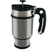 Planetary Design Travel Mug Coffee Double Shot French Press Stainless Steel