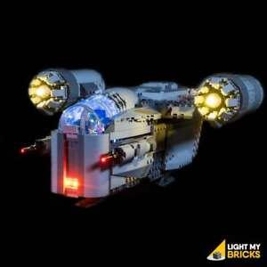 LIGHT MY BRICKS - LED Light kit for LEGO Star Wars The Razor Crest 75292