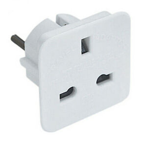 UK-British-English-To-EU-Euro-Europe-European-Travel-Adaptor-Plug-2-Pin-Adapter