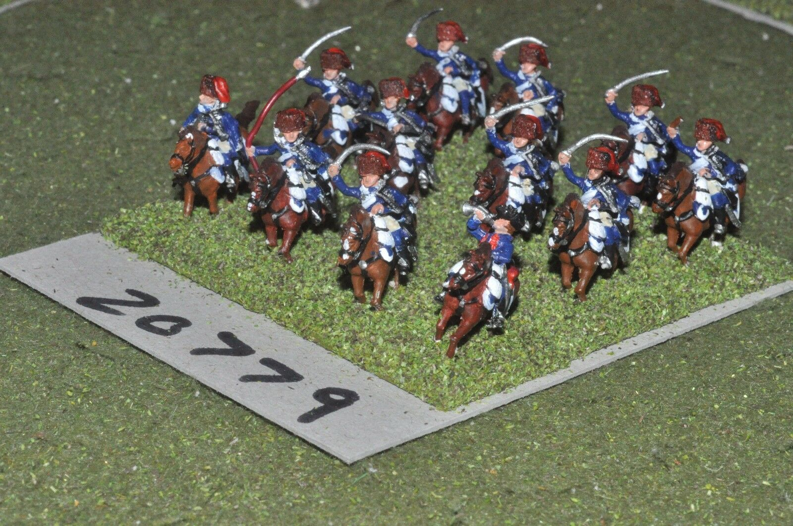 15mm 7YW   prussian - seven years war cavalry 12 cavalry  - cav (20779)