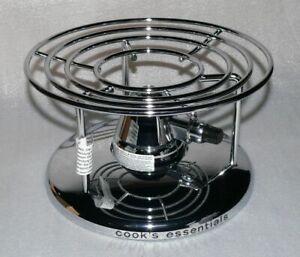 Gasbrenner mit Chromgestell für Kochgeschirr mit 11-25cm Boden