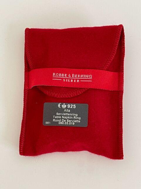 Serviettenring Robbe /& Berking 925er Silber Serie ALTA