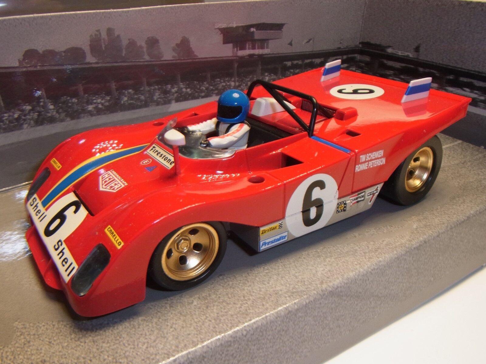 SLOTER FERRARI 312  6 DAYTONA 1972 DARE   PETERSON Pista per auto 1 3 2 SLOTCAR