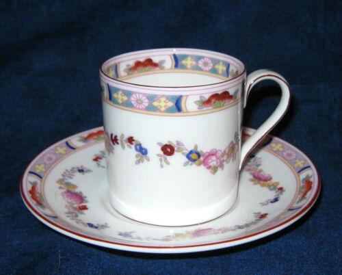 Minton MINTON ROSE Demitasse Cup and Saucer Wreath Backstamp