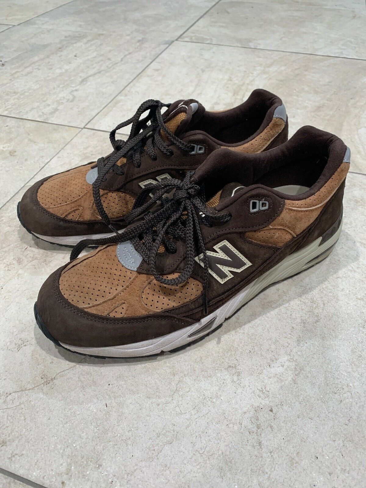 New Balance M991DBT Made In England sz 12 Pre-owned Running