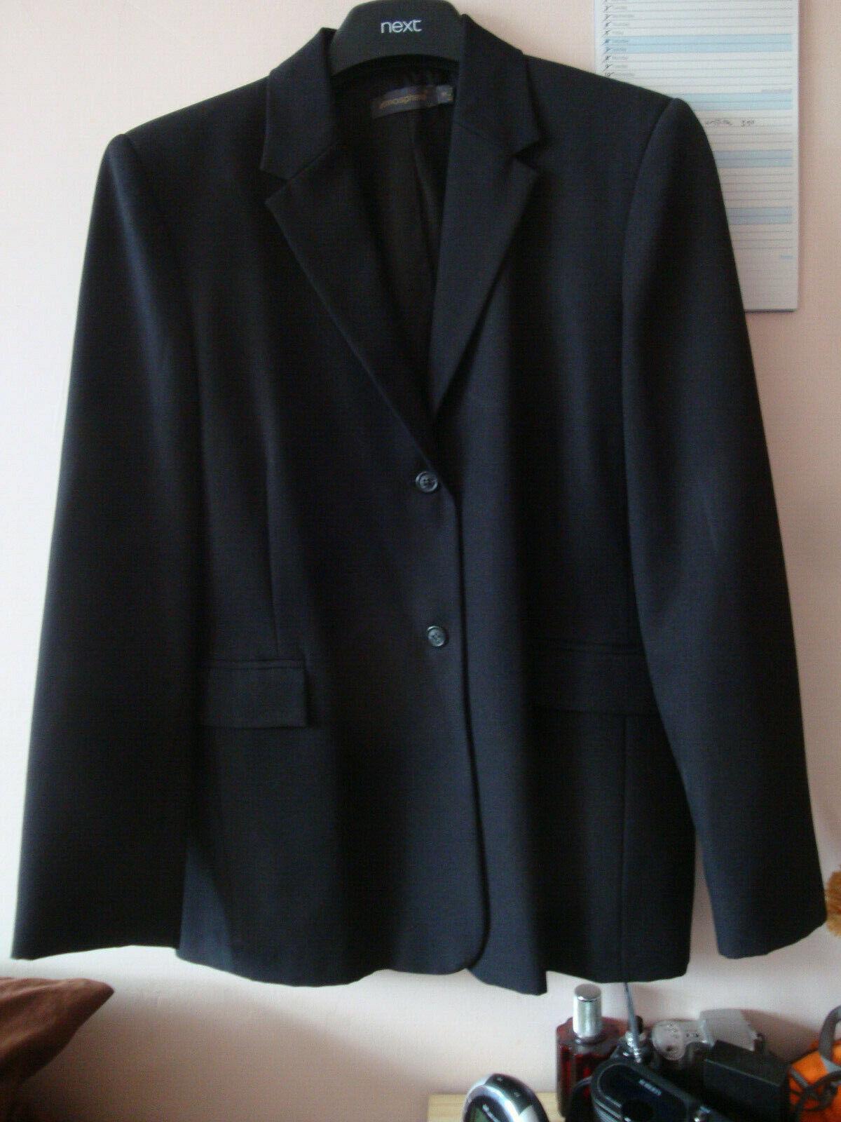 Atmosphere Ladies Jacket Size 16 Black (with false pockets)