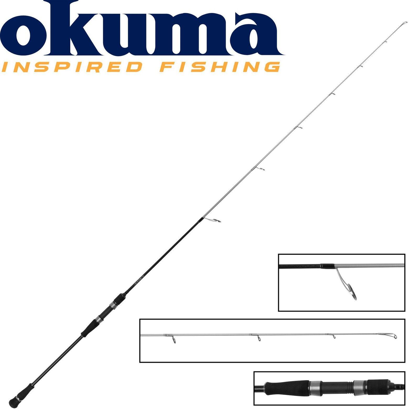 Okuma Azzores Slow Jig 203cm 20-90g Pilkrute Dänemark Norwegen Jiggen Jigrute