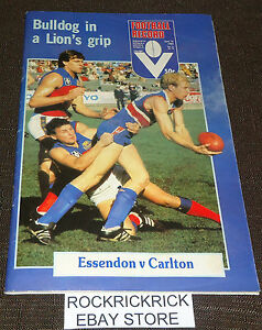 VFL-FOOTBALL-RECORD-JUNE-14-1982-VOL-71-NO-26-ESSENDON-VS-CARLTON