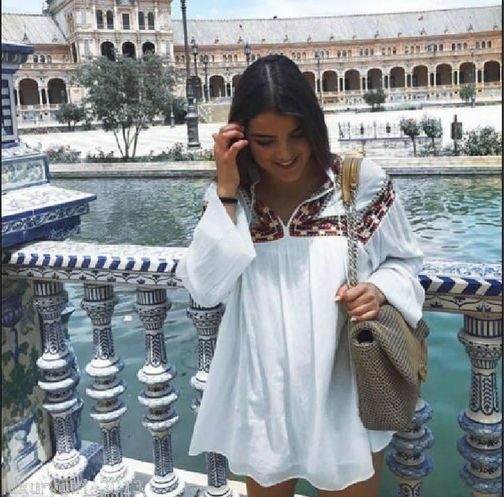 ZARA NEW Weiß Weiß Weiß EMBROIDErot LONG SLEEVE TUNIC DRESS Größe S   Deutschland München    Wirtschaftlich und praktisch    Modern Und Elegant  89d2b2