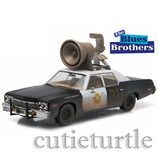 Greenlight Blues Brothers Bluesmobile 1974 Dodge Monaco With Horn 1:43 86423