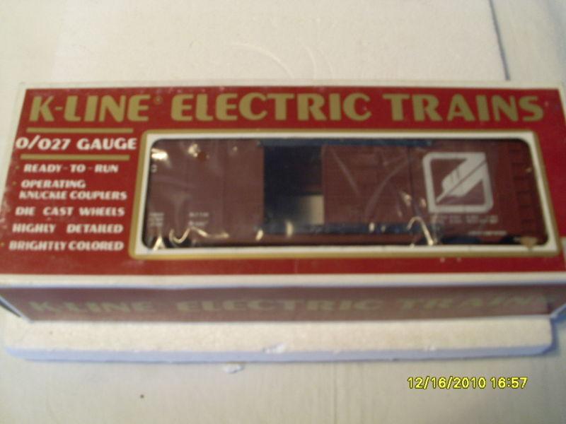 K-LINE O 027 GAUGE WESTERN PACIFIC BOXCAR