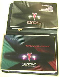GM-2000-Pontiac-Grand-Prix-Owner-039-s-Manual