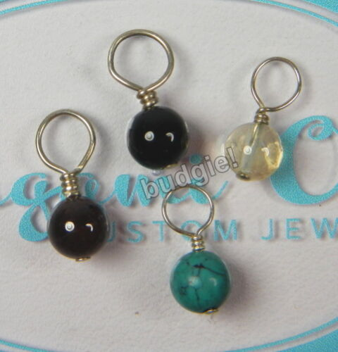 AUTHENTIC Origami Owl TAGGED Collection RETIRED Earth Elements Accents Stones