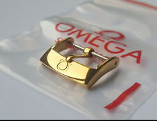 Omega 16mm Gold Plated Watch Buckle B-15