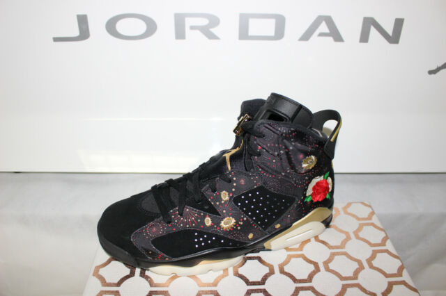 346c22de9ad Nike Air Jordan 6 Retro CNY 2018 Chinese Year Shoe Aa2492-021 Men Sz ...