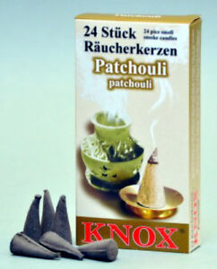 Knox Patchouli Incense Cones 24 Count Direct From Germany Ebay