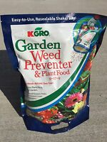 Kgro Shake N Feed All Purpose 9-17-9 Plant Food Plus Weed Preventer 6.25 Lbs Bag