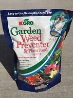 Kgro Shake N Feed All Purpose 9-17-9 Plant Food Plus Weed Preventer 6.25 Lbs Bag