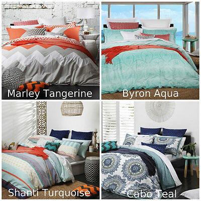 Logan and Mason Doona Duvet Quilt Cover Set Single/Double/Queen/King/Super King