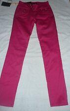NWT Women's pink skinny denim low BOUR FASHION booty inseam 31 juniors size 3