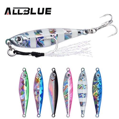 ALLBLUE® Fishing Lure ALADDIN Mini Metal Cast Jig 10G 15G Micro Shore Casting