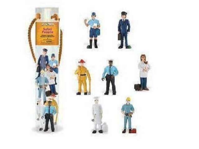 Men & Profession (Mini Figurines) Series Tubos - Tubes Safari Ltd 682304