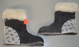 Sorel Boot Liners >> Details About New Sorel Childs Youth Wool Felt Replacement Boot Liners Size 10