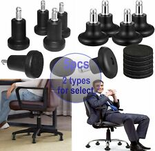 5 Pack Highshort Bell Glides Replacement Office Chair Swivel Caster Wheels