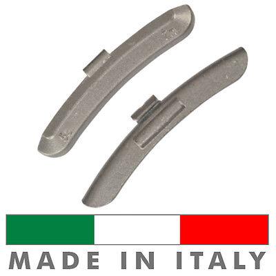 15 X Pesi Equilibratura cerchi ferro da 10g Contrappesi zinco MADE IN ITALY