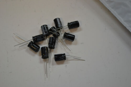 1000uf 10v Capacitors Lot of 10 105C