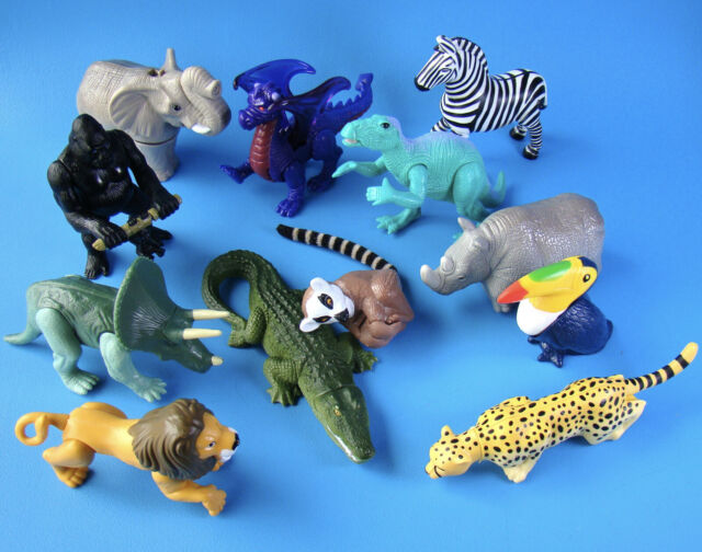 McDonald's Vintage Disney Animal Kingdom Set of All 12 Happy Meal Toys - 1998