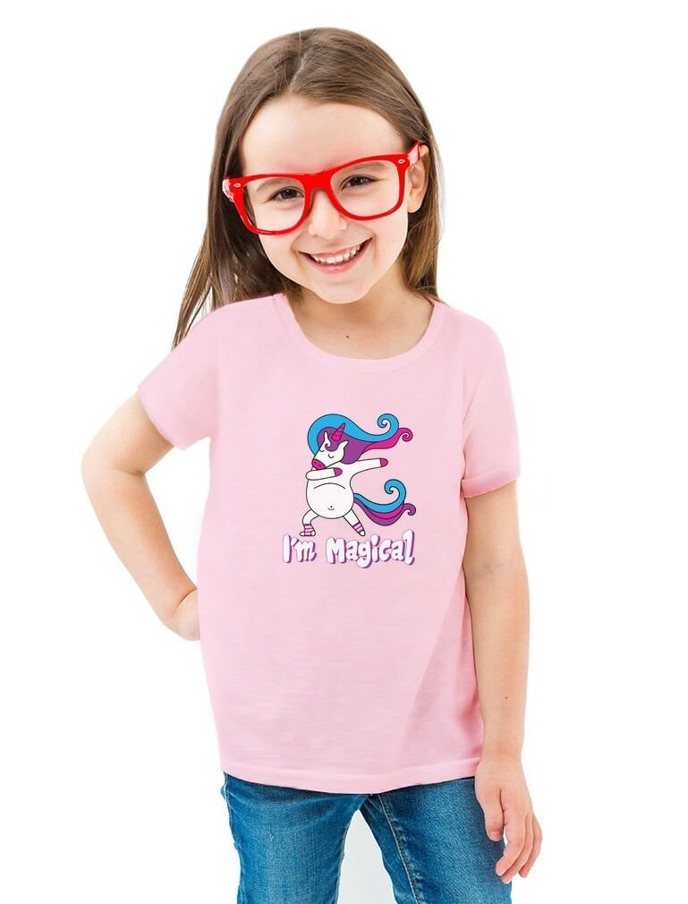 3rd Birthday Fairy Party Toddler I/'m 3 Cute Gift Girls Kids T-Shirt 3T 2t 4T XS