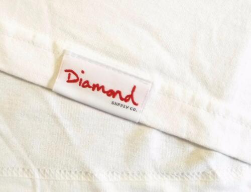Diamond Supply Company 98 Graphic Tee Mens White 100/% Cotton T-Shirt NWT NEW