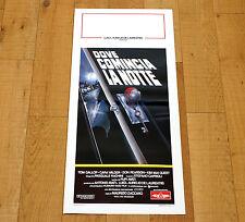 DOVE COMINCIA LA NOTTE locandina poster Where the Night Begins Tom Gallop AA53