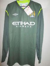 "Manchester City 2011-12 Player Issue Goalkeeper Football Shirt 44"" BNWT /she"
