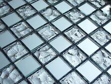 Glasmosaik Mosaik Fliesen Klarglas spiegel sp1002 klarglas spiegelmosaik Bad