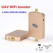 SUNHANS eSunRC 3000mW UAV WiFi Signal Booster 2.4Ghz 35dBm WiFi Signal Amplifier