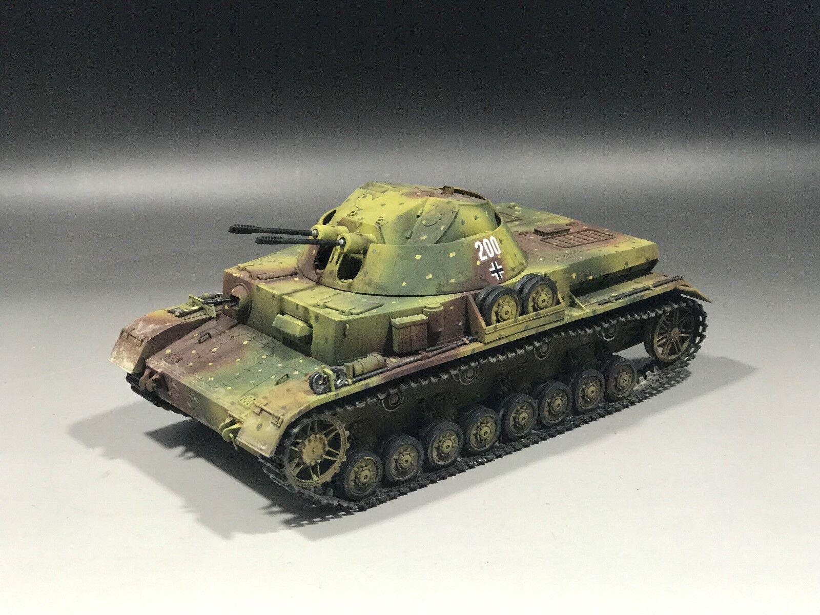 1/35 construido alemán Flakpanzer IV (3 cm) Kugelblitz