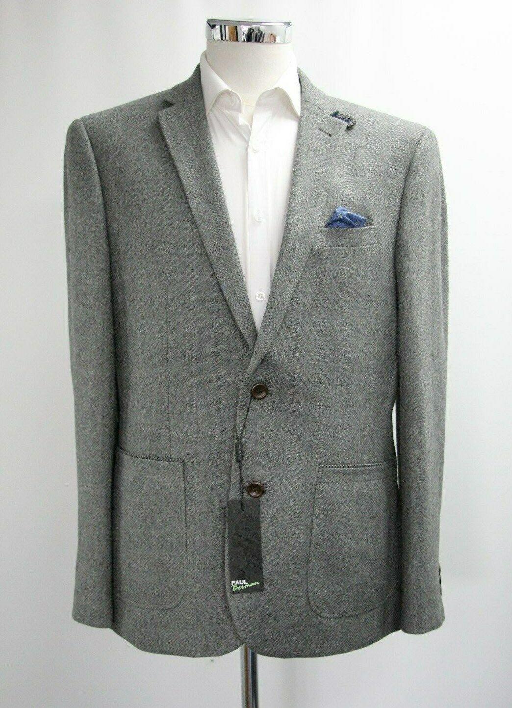 Men's Paul Berman Grey Blazer (XL).. Sample 4393