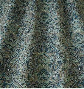 Iliv Klee Indigo Velvet William Morris Style Curtain Upholstery