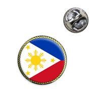 Flag Of Philippines Lapel Hat Tie Pin Tack