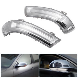 2X-Right-amp-Left-Wing-Mirror-Indicator-Turn-Signal-Light-Fit-VW-MK5-Golf-Passat