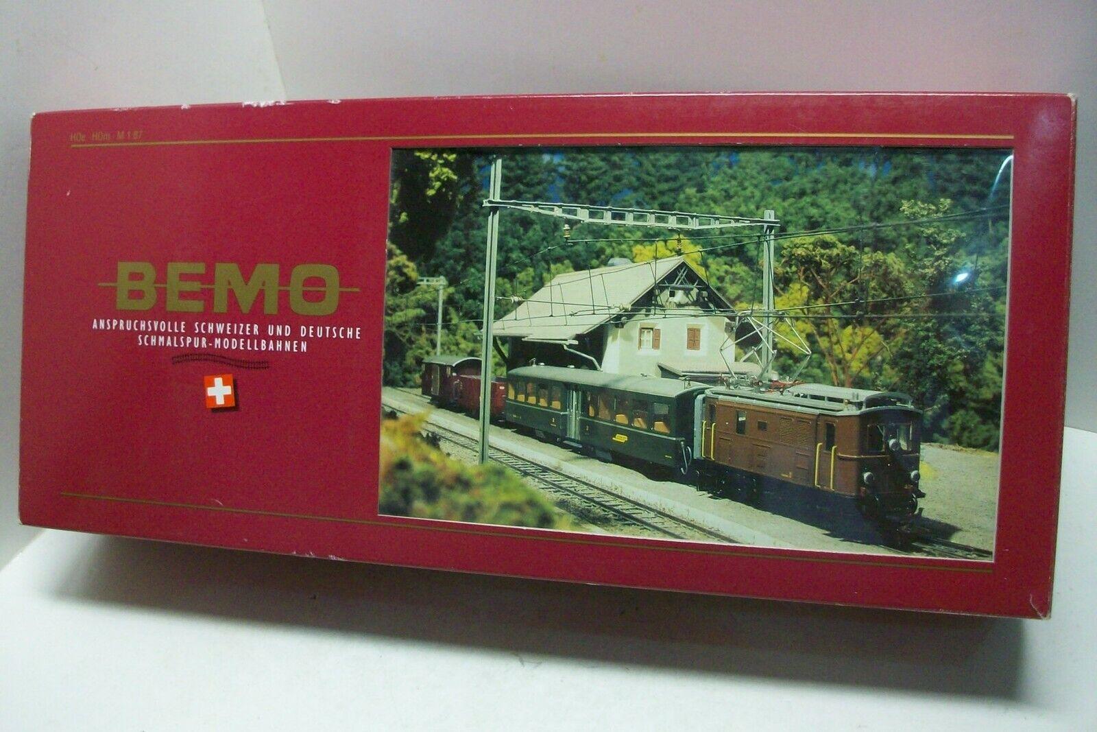 HOm BEMO 7256100   Startset Tren RhB, estuche iniciacion escala HOm.