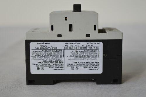 3RV1011-0JA10 SIEMENS SIRIUS 1.242 Motorschutzschalter