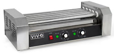 Vivo Electric 12 Hot Dog And 5 Roller Grill Cooker Warmer Cooker Machine