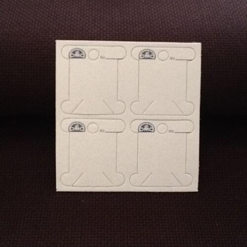 2 x 56  DMC CARDBOARD BOBBINS  FREE POST