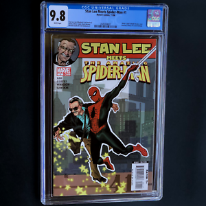 STAN-LEE-MEETS-SPIDER-MAN-1-2006-CGC-9-8-AMAZING-FANTASY-15-HOMAGE