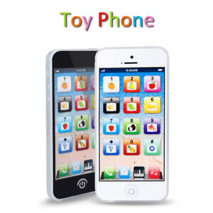 Kids Simulator Music Toy Cell Phone Touch Screen Educational Learning Child Gift Ebay