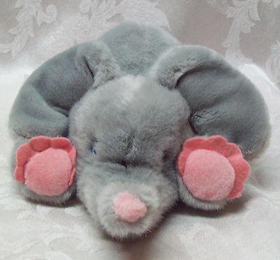 """WestCliff Collection DUMBO Vintage 10"""" ELEPHANT Plush Pink Baby Blue Eyes Animal"""